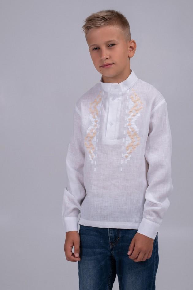 Дитяча вишиванка для хлопчика white