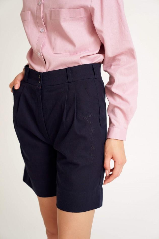 Жіночі шорти Темно-сині