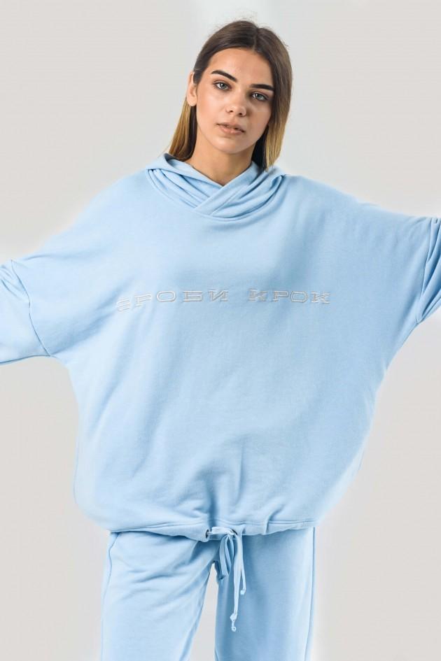 Худі блакитний