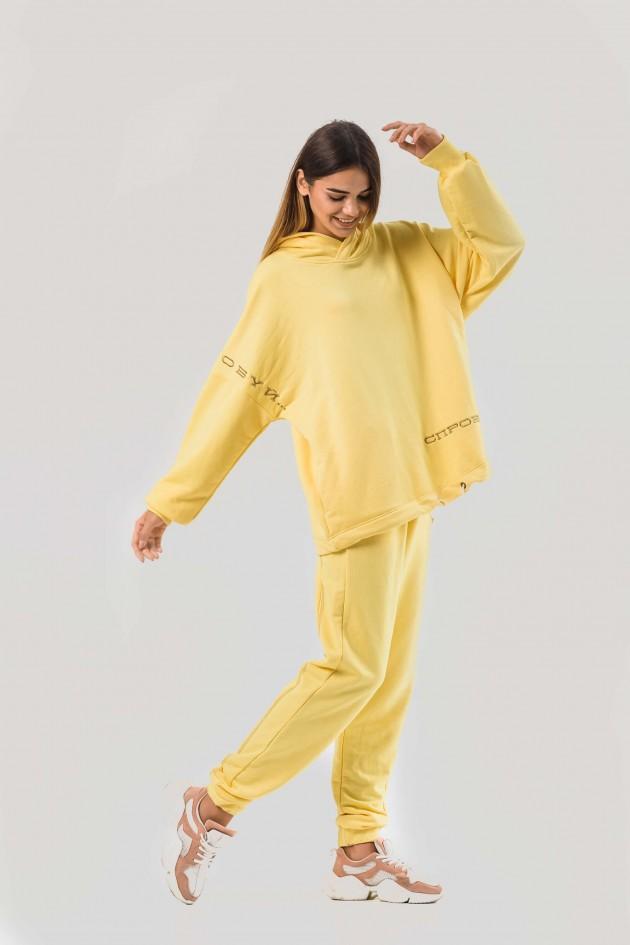 Худі жовтий