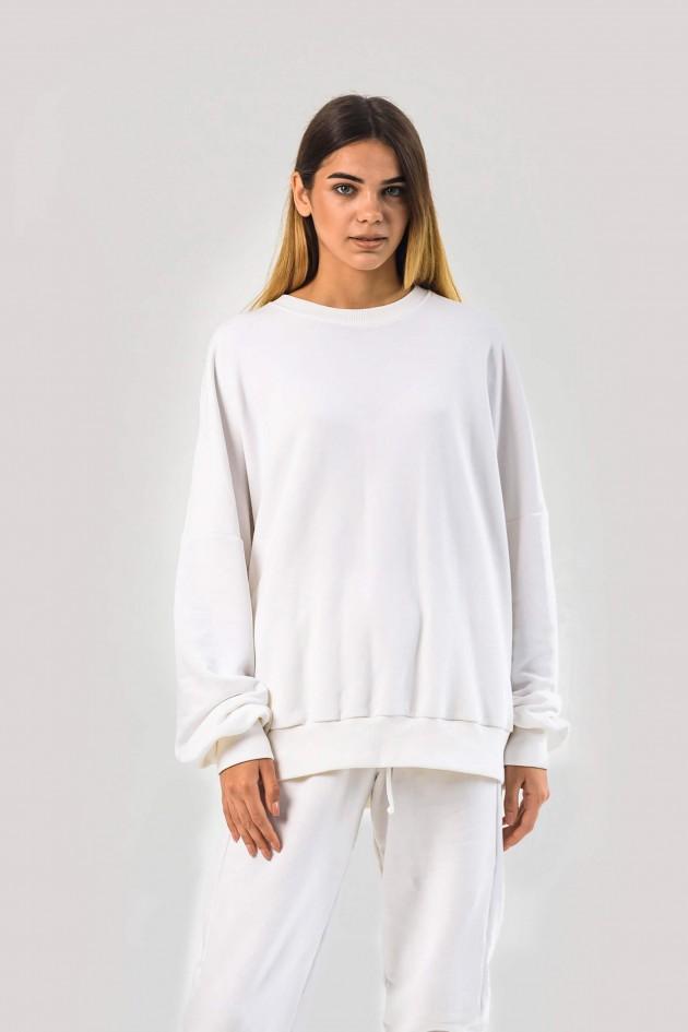 Жіночий костюм оверсайз білий