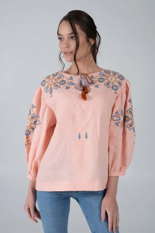 Женская вышитая блуза PEACH