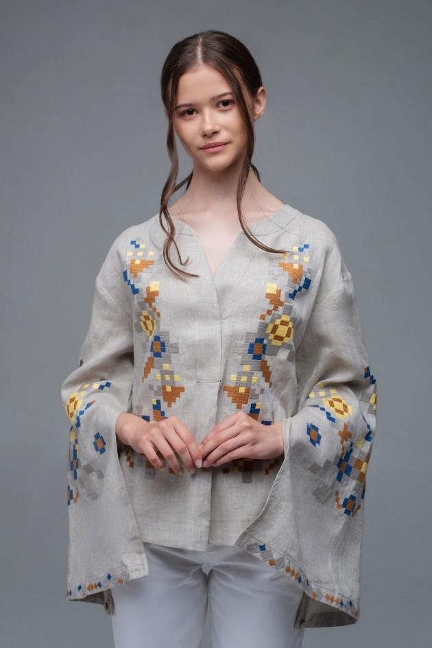 Жіноча вишиванка Natural