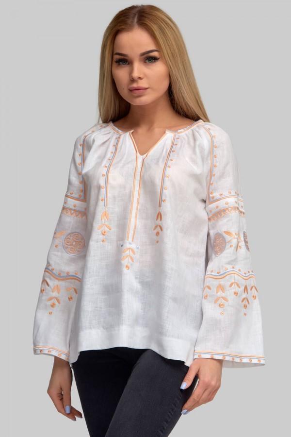 Жіноча вишиванка блуза White 6
