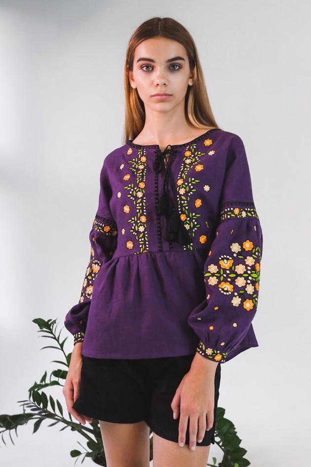 Жіноча вишиванка блуза Violet