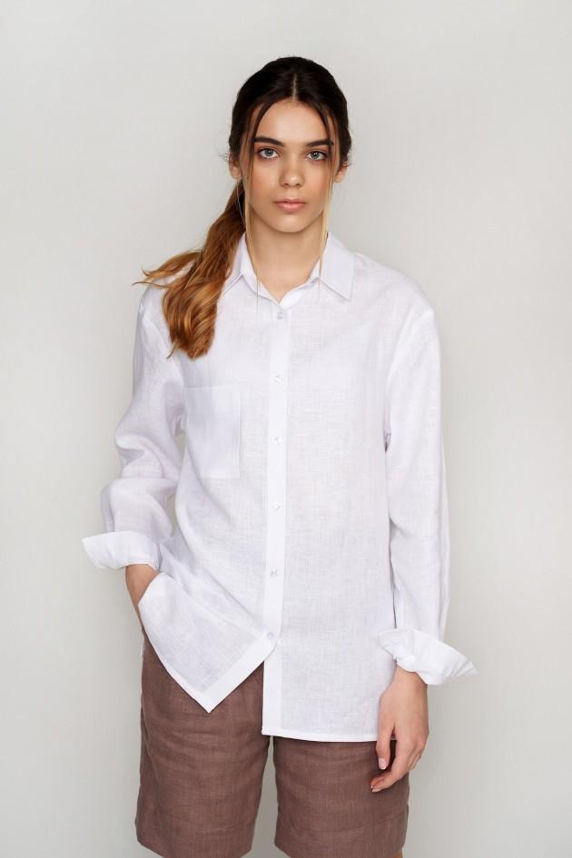 Жіноча сорочка White
