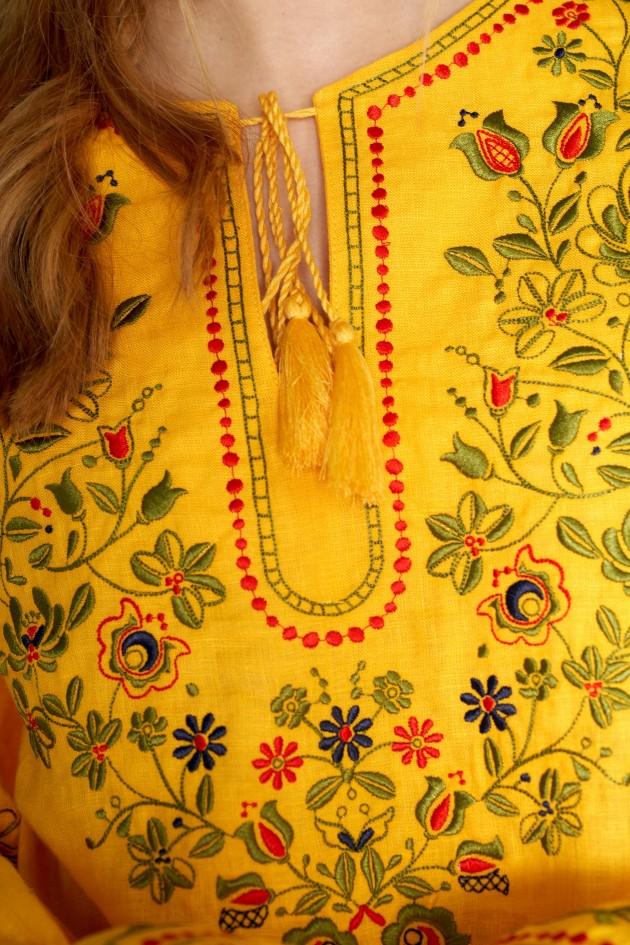 Жіноча вишита блуза Yellow