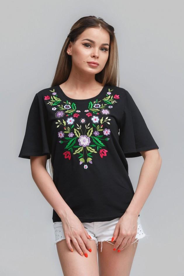 Жіноча футболка Black 3