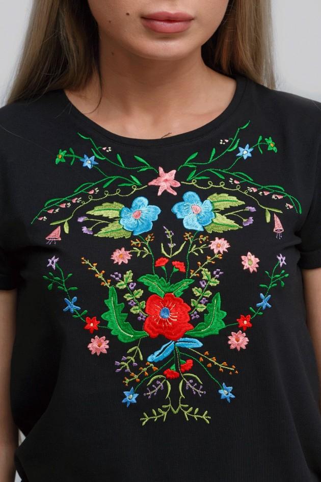 Жіноча футболка Black 4