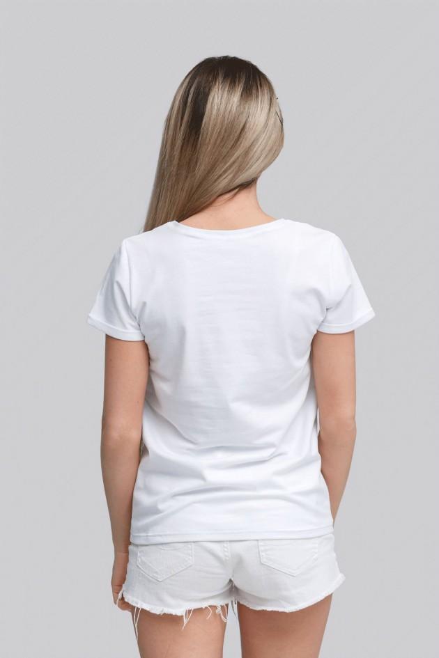 Жіноча футболка White 4