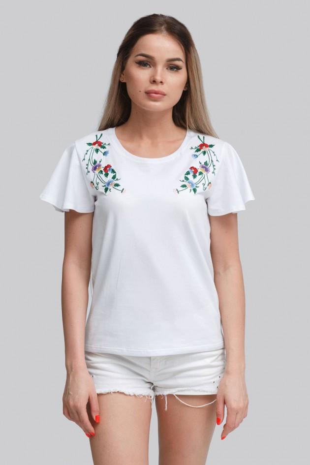 Жіноча футболка White 5