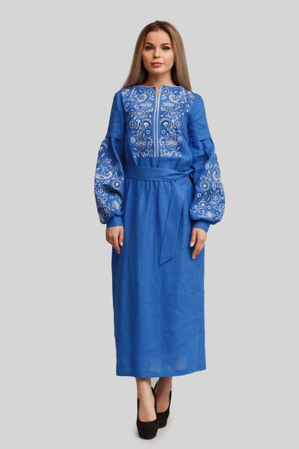 Жіноча вишита сукня Blue