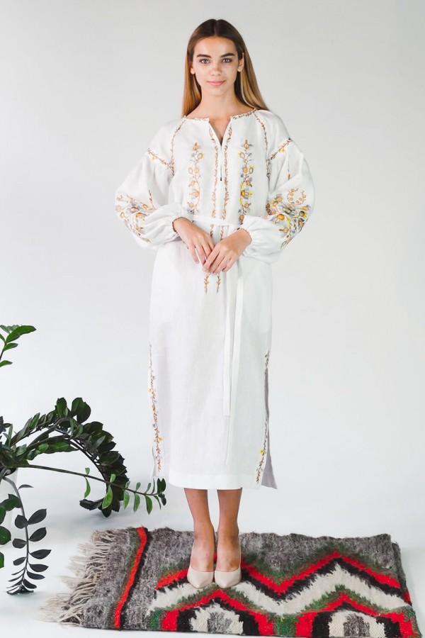 Жіноча вишита сукня White 3